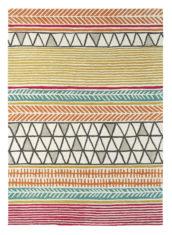 kolorowy dywan geometryczny Raita Citrus 24700
