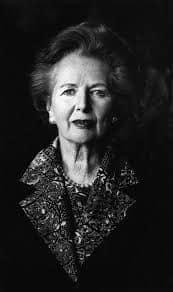 Margareth Thatcher - Helmut Newton