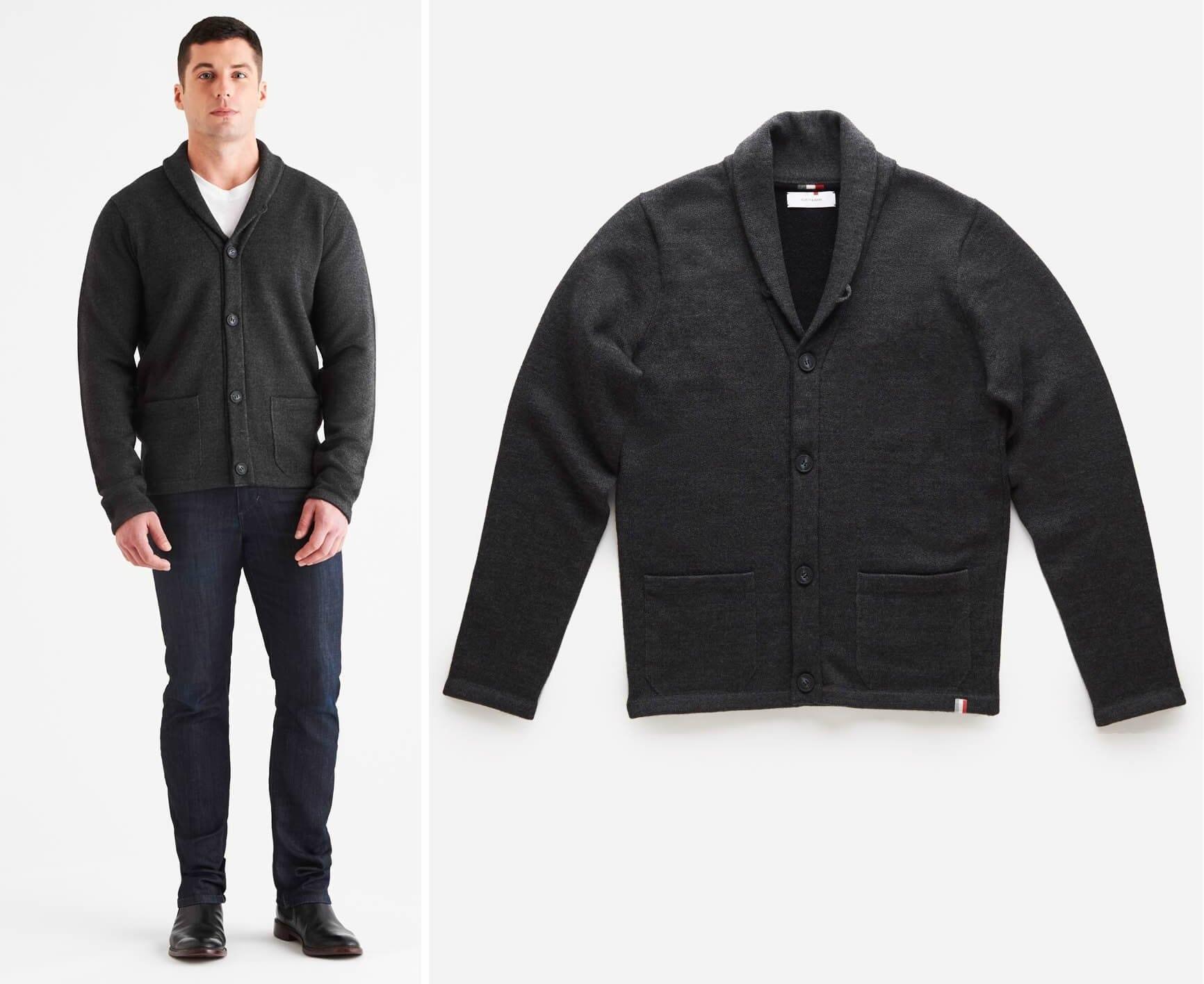 North & Mark Brixton LuxCore™ Cashmere Cardigan