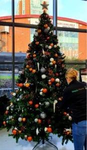 Corporate Christmas tree hire