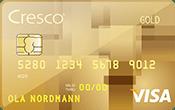 Cresco Gold kredittkort