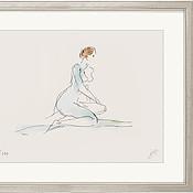 """Reproduktion des Bildes """"Akt"""" von Serge Mangin"""