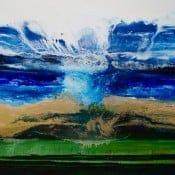 """""""Water know everything"""" - Abstraktes Ölgemälde von Tetiana BOND"""