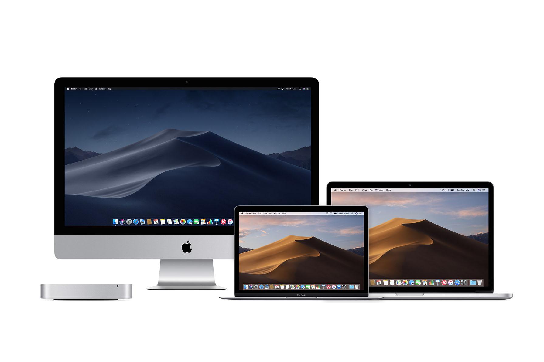 MacOS 10.14 Mojave iMac Mac Mini MacBook Pro
