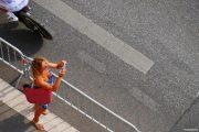 Spectatrice tour de France Marseille