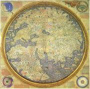 Fra Mauro monje y cartógrafo camaldulense italiano del siglo XV.