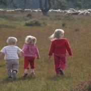 ouderverstoting-probleem-drie-kinderen-wandelen