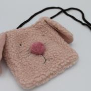 Tasje roze hondje