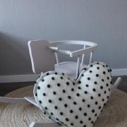 Dots heart kussen