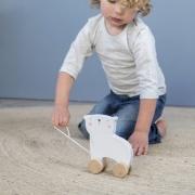 Little Dutch ijsbeer trekdier met naam