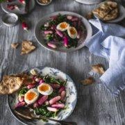Leichter Radieschensalat mit Ei