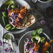 Tandoori Chicken Grillspieße