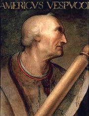 Américo Vespucio, en italiano, Amerigo Vespucci