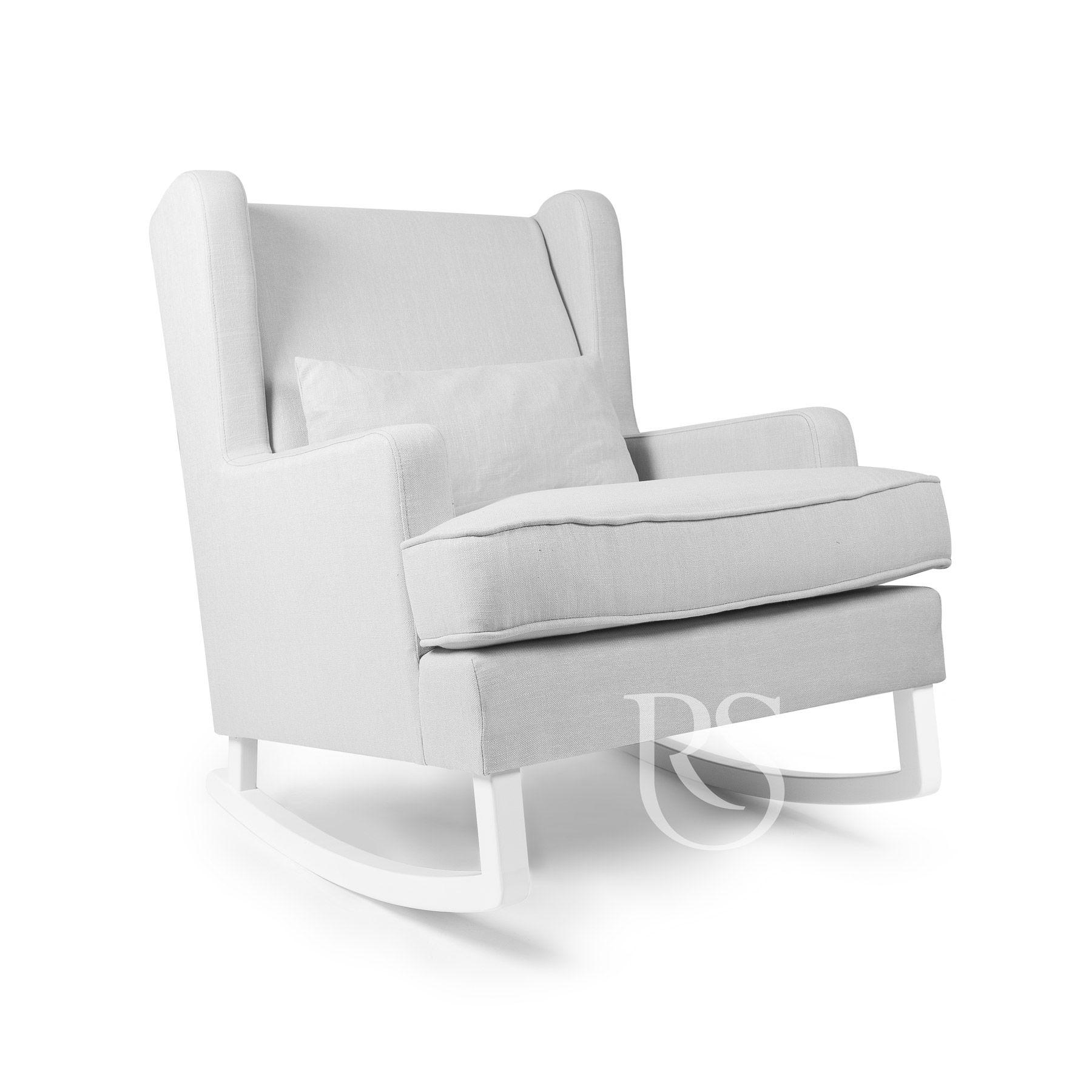Schommelstoel grijs pearl rocker rocking seats