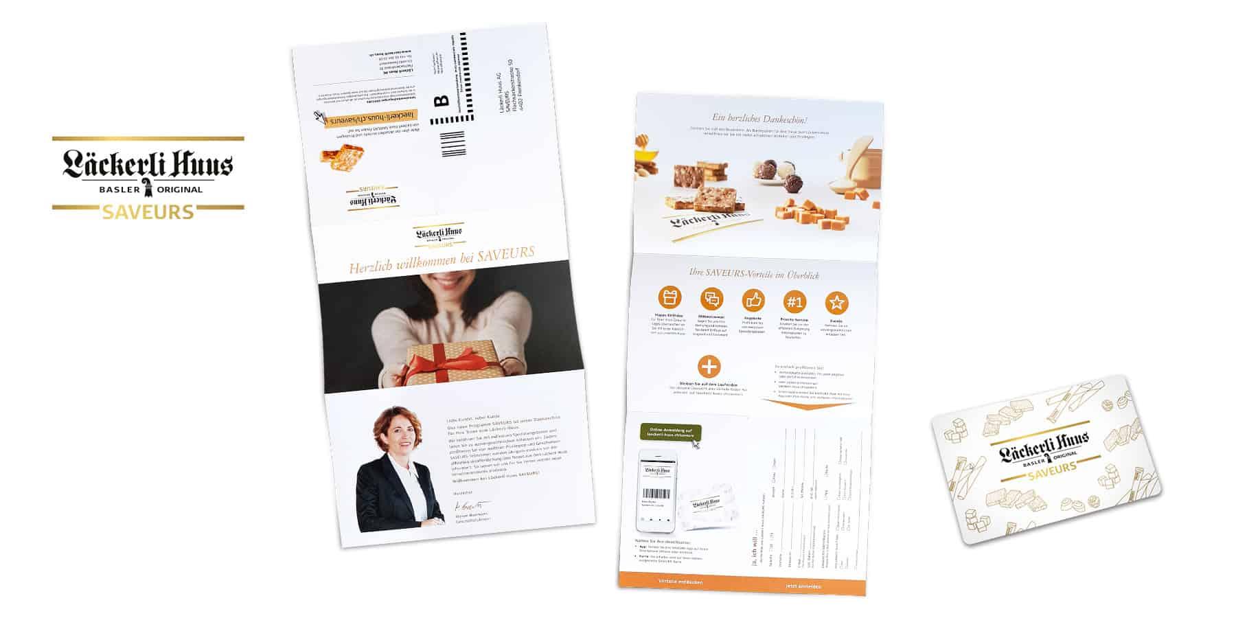 Läckerli Huus AG - Neulancierung Kundenprogramm SAVEURS