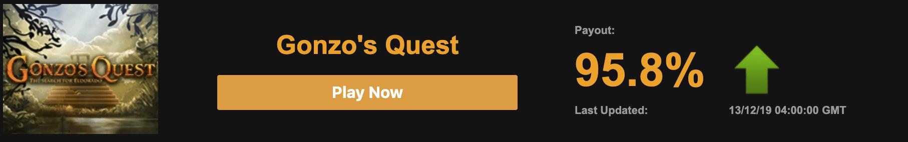 Gonzo's Quest hos Video slots