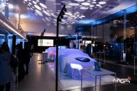 Lancement BMW série 3, éclairage par MGS grâce aux mat-ximus