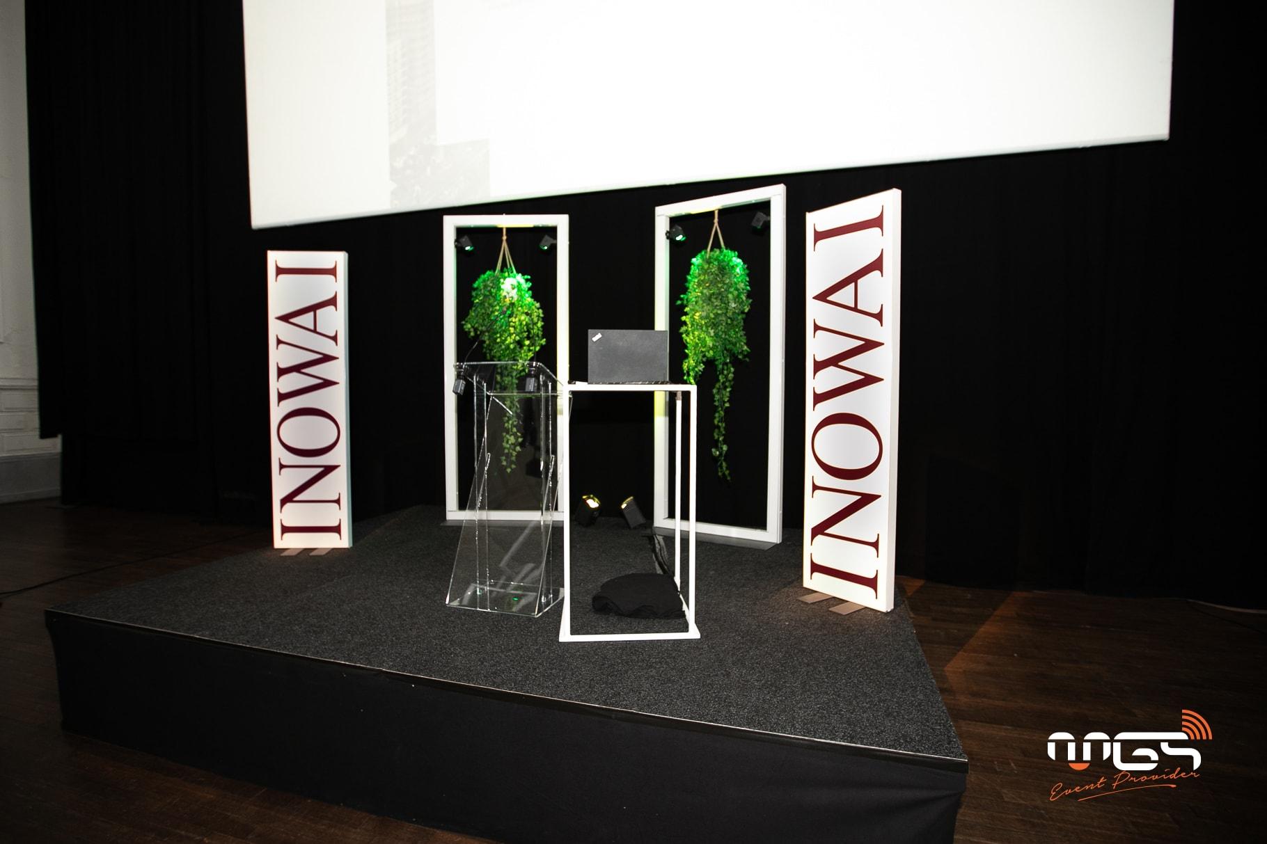 MGS mise sur une décoration végétale pour ce gala Inowai.