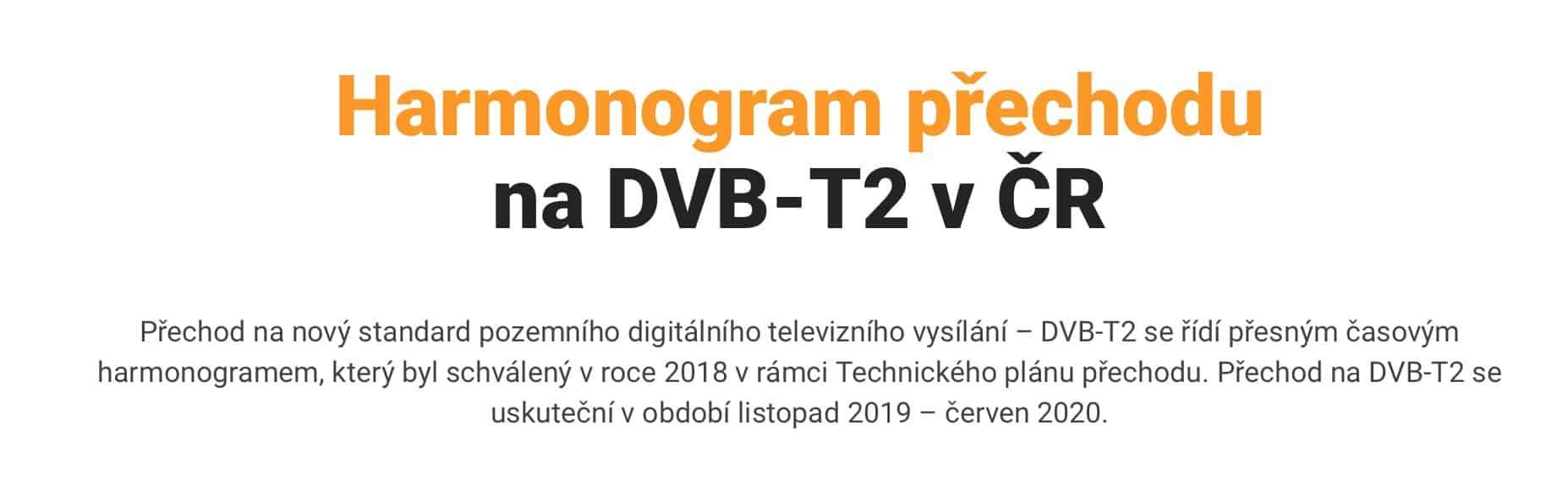 Jak přeladit televizi na DVB-T2? Vše, co potřebujete vědět