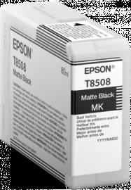 Singlepack Matte Black T850800 - 80ml – per stampante SC-P800 1