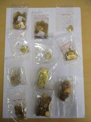 Gold, Goldmünzen, Goldbarren, beschlagnahmt, Polizei, Passau