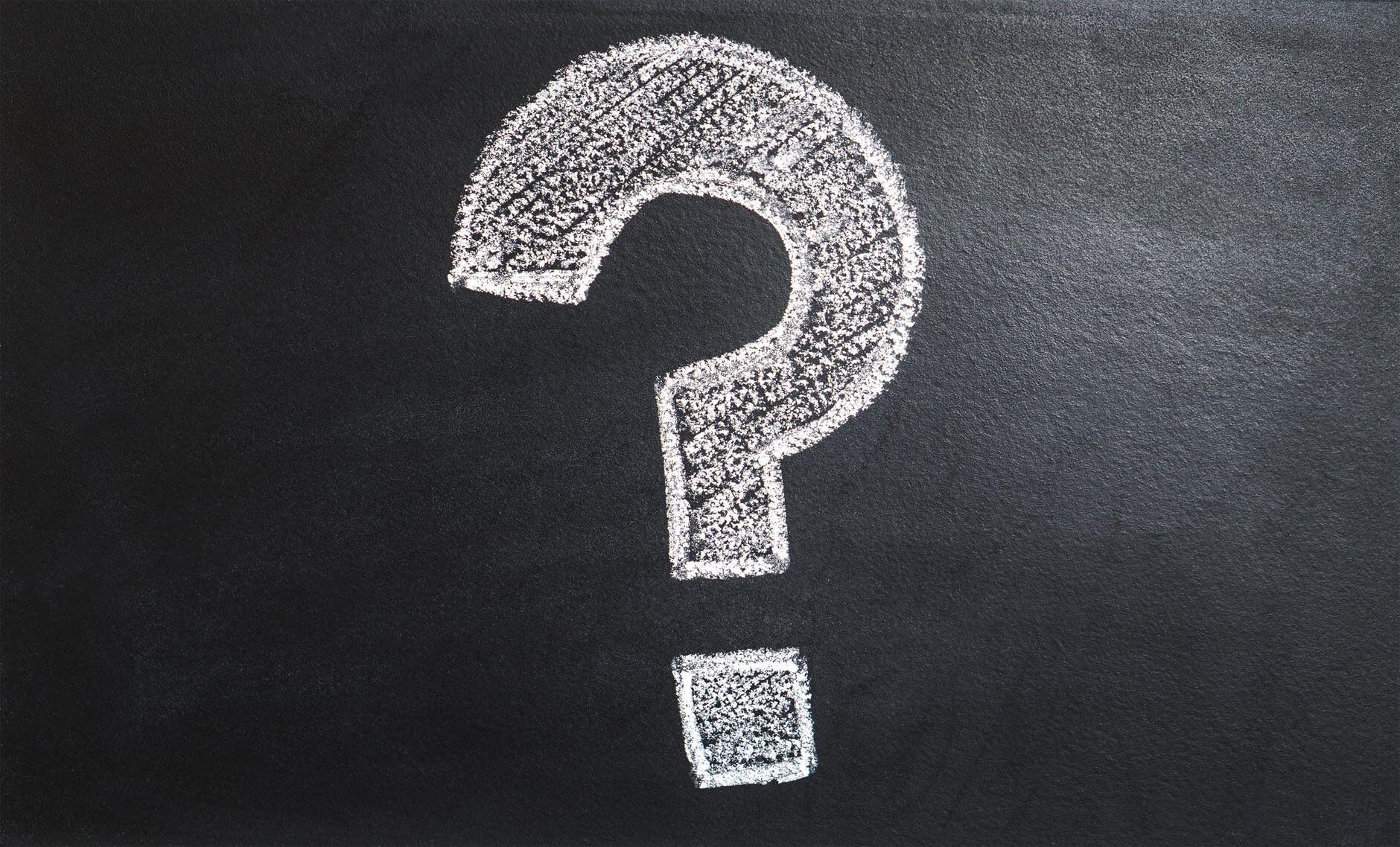 question mark illustration