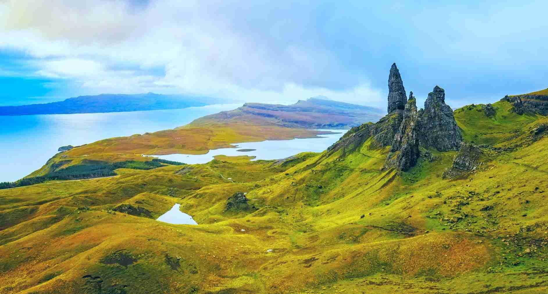 isle of skye coast to coast walking holiday