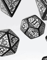 Polydice Set Q-Workshop Celtic Black White