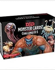 Spellbook Cards Monster Cards Challenge 0-5 Dungeons and Dragons