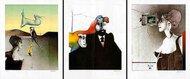"""Bildmappe """"Bellevue"""" - Original Lithografien von Paul Wunderlich"""
