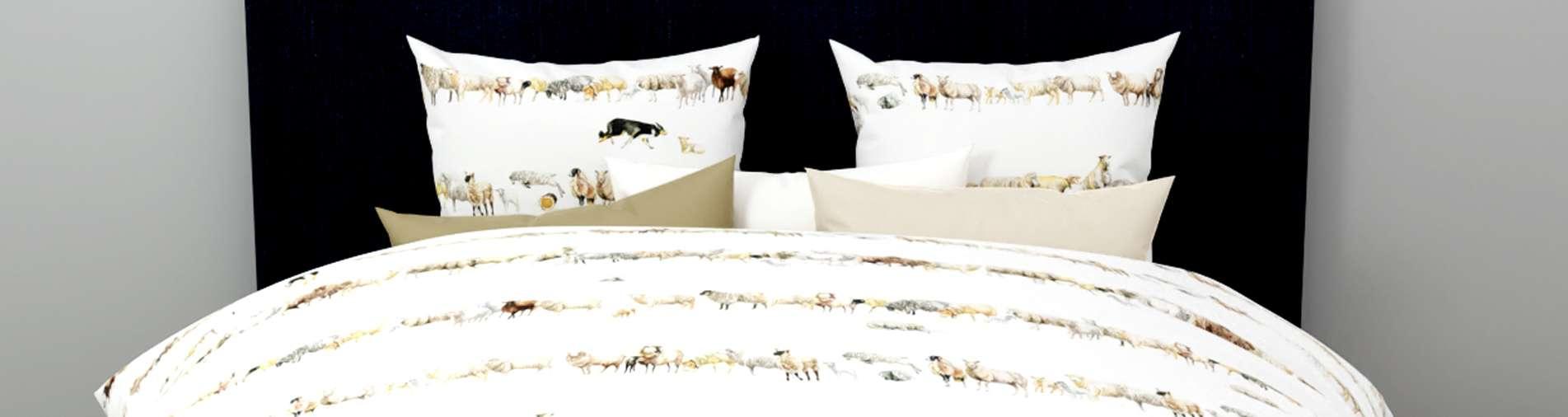Counting Sheep Bettwäsche von Christian Fischbacher