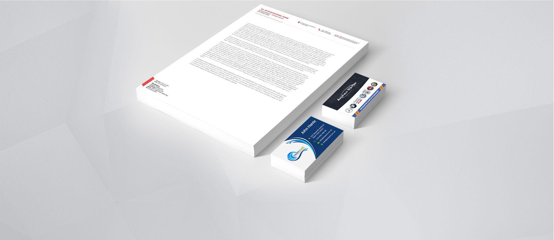Printdesign - Design und Druck für Ihre Firmendrucksorten