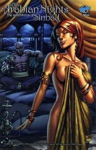 Review Komik 1001 Arabian Nights: The Adventures of Sinbad #1 (Zenescope, 2008)