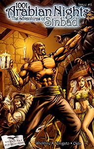 Review Komik 1001 Arabian Nights: The Adventures of Sinbad #8 (Zenescope, 2009)