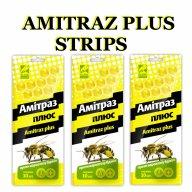 Amitraz strips honey bee mite treatment taktic