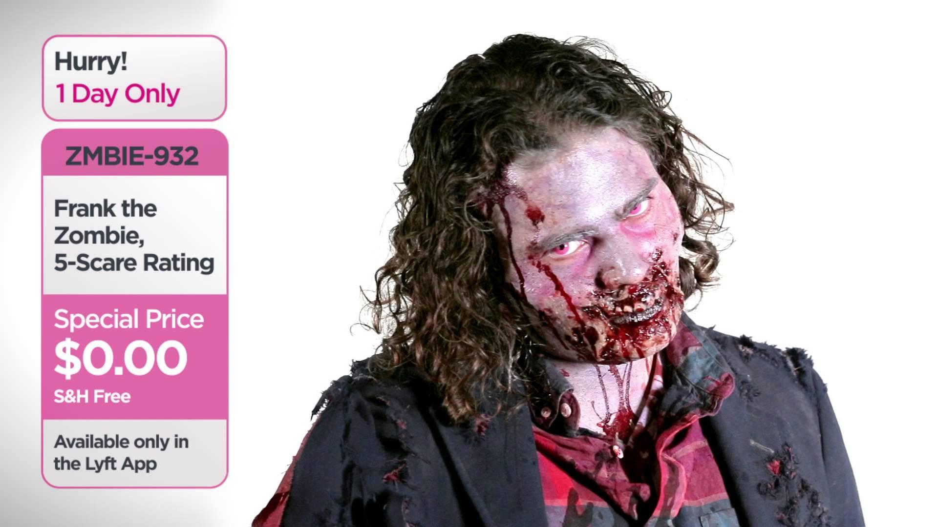 Lyft Zombie Delivery