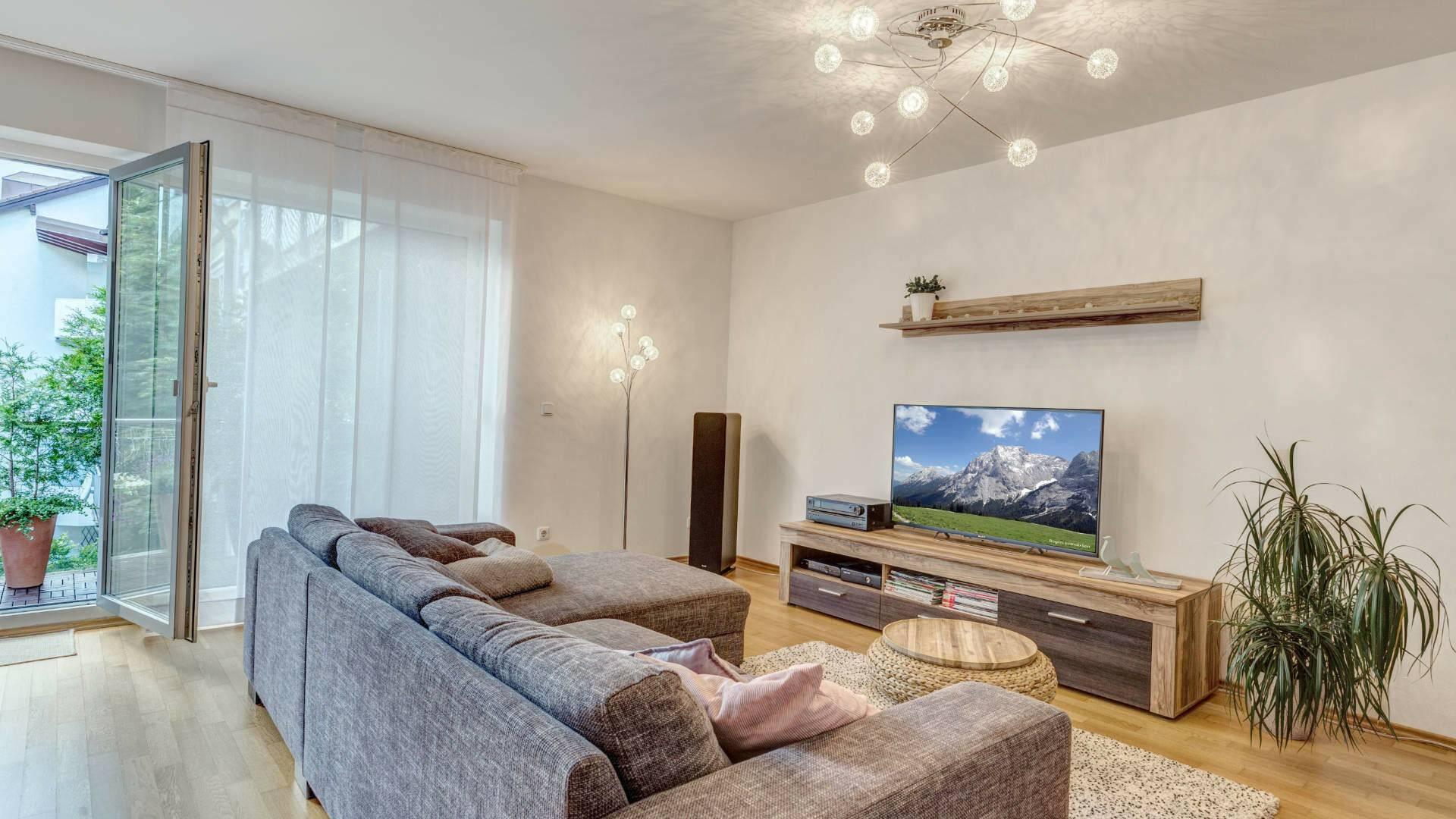 Milbertshofen Wohnung Wohnzimmer