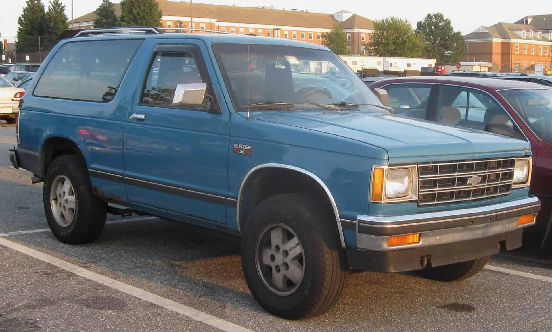 Chevrolet GMC Jimmy Blazer