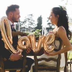 Couple mariage ballon love My Green Event