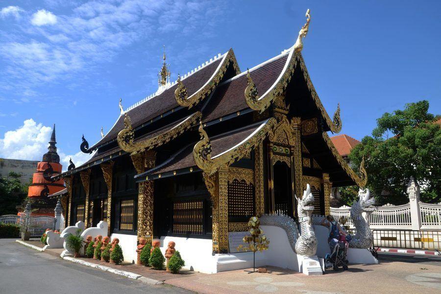 Templo Wat Phra Singh en Chiang Mai
