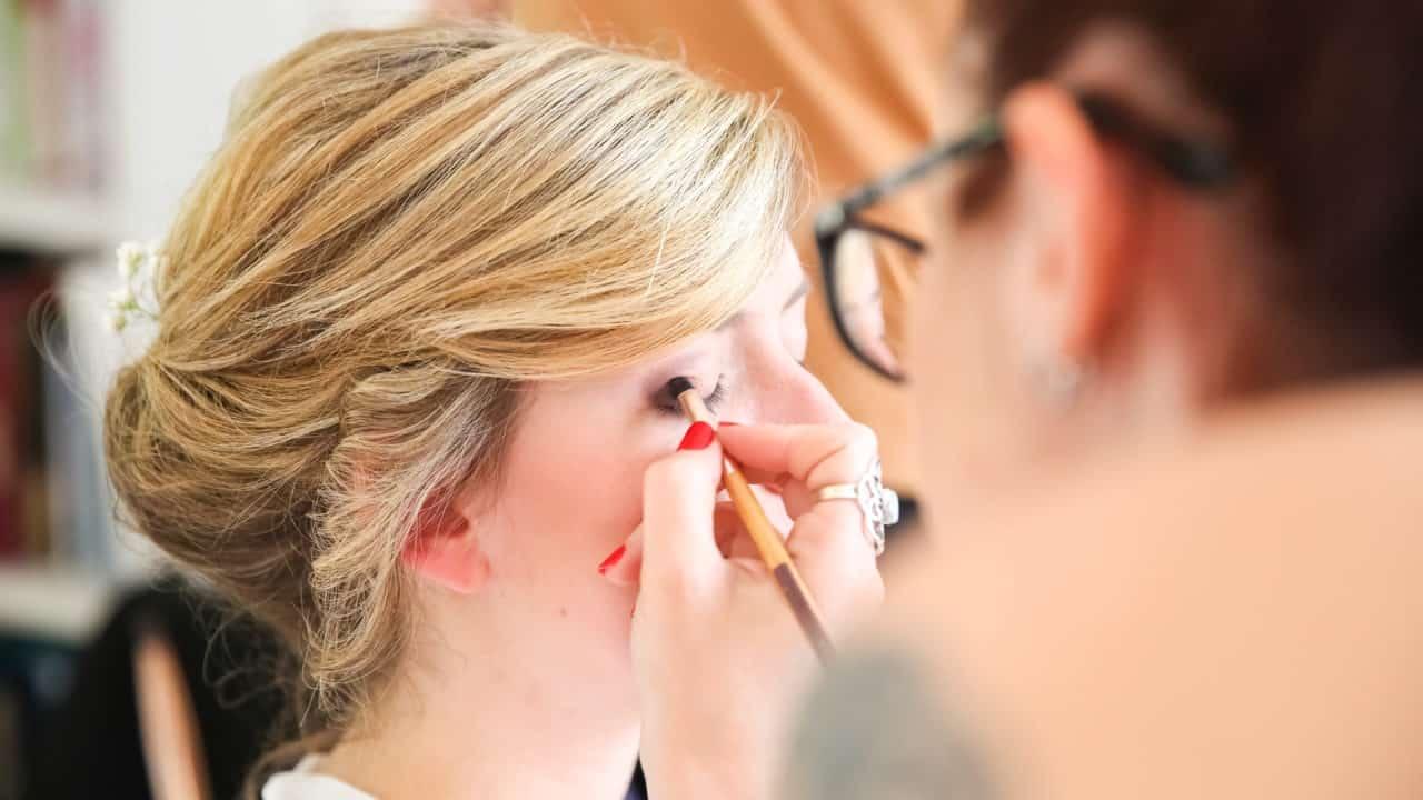 Preparatifs mariage maquillage bio My Green Event