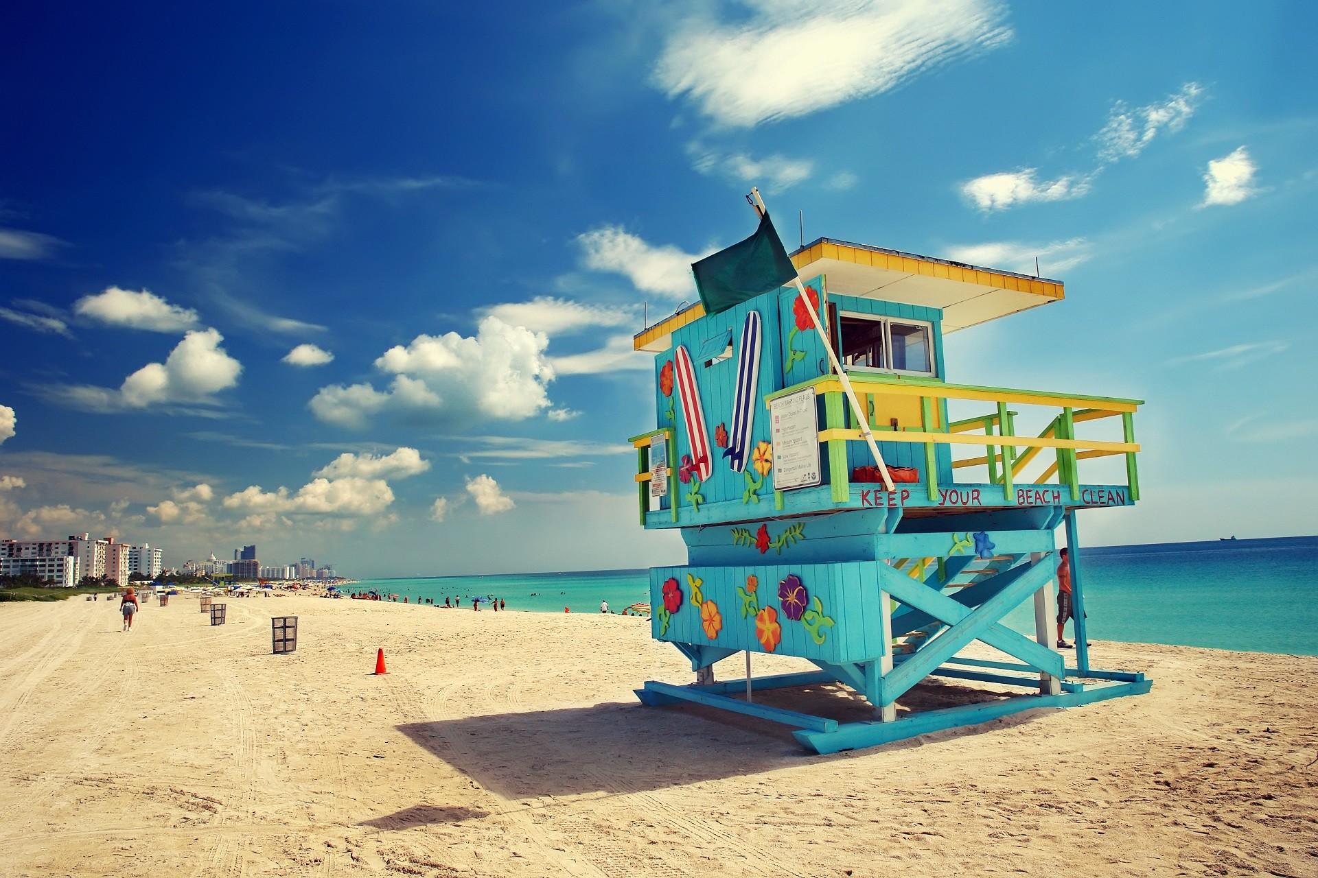 Plaża w Miami Floryda