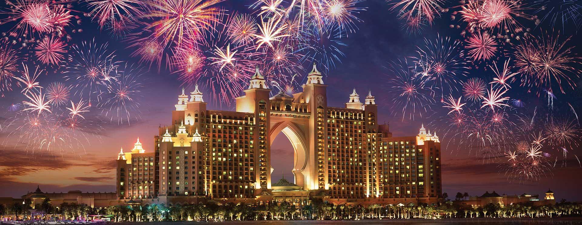 happy new year at burj khalifa 2020
