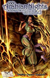 Review Komik 1001 Arabian Nights: The Adventures of Sinbad #6 (Zenescope, 2008)