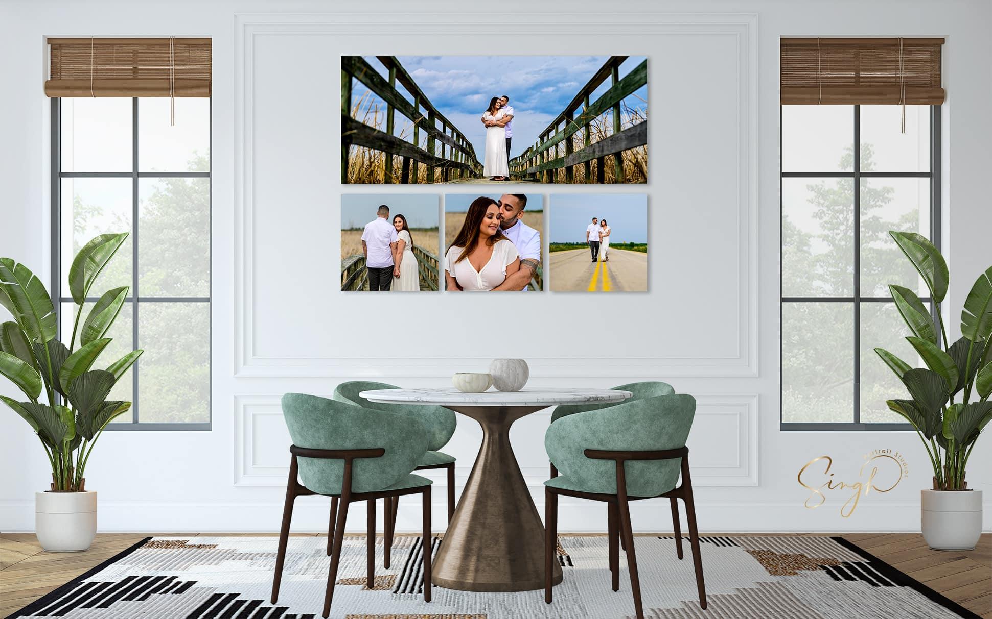 Engagement Wall Art