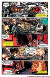 Review Komik Cyborg: Rebirth #1 (2016)