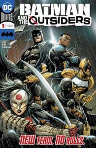 Review Komik Batman & The Outsiders #1 (DC Comics, 2019)