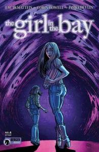 Review Komik The Girl In The Bay #4 (Dark Horse, 2019)