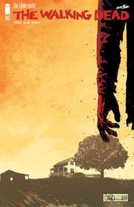 Cover komik The Walking Dead 193