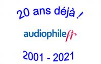 Audiophilefr : 20 ans déjà !